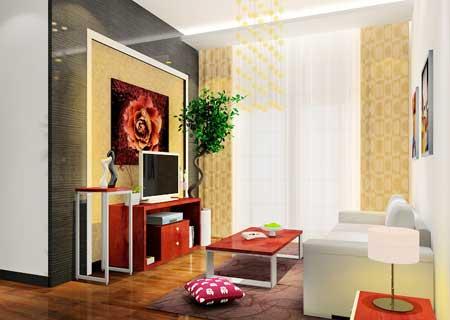 客厅装修不可错过 绝美电视背景墙(图)