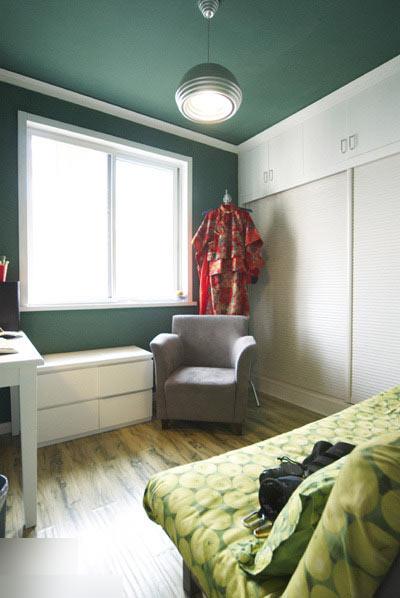 50平米左右,简约风格装修,户型一室一厅