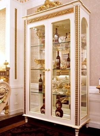 欧式酒柜效果图:欧式风格的家居装修