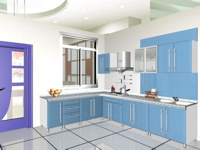 整体橱柜的设计与搭配 流行的橱柜颜色搭配方案