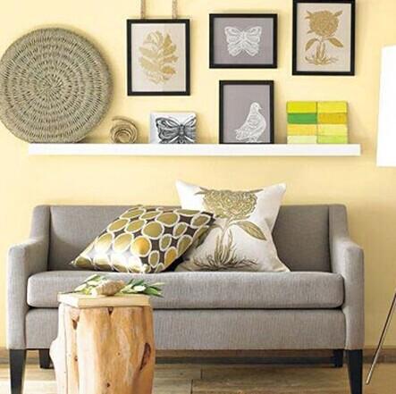 欧式私人个性化沙发背景墙为您客厅加分-乐山装饰网