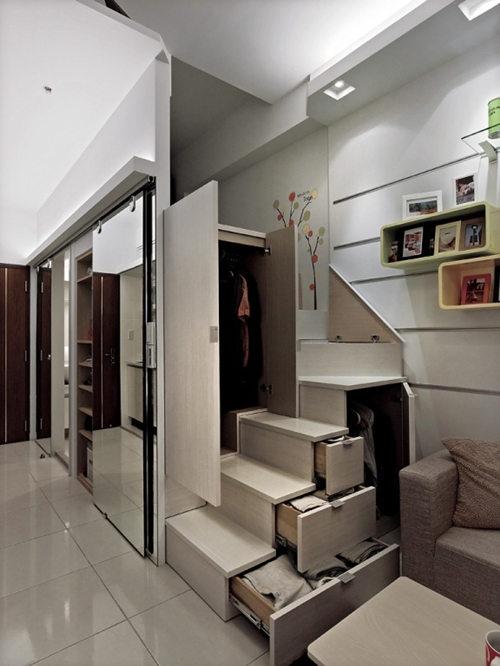 裝修案例之小公寓的極致奢華