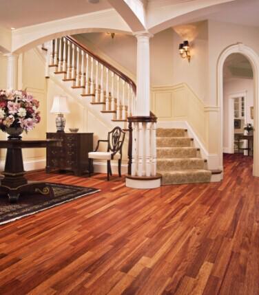 北欧风格装修 北欧风极简三层实木地板大受欢迎