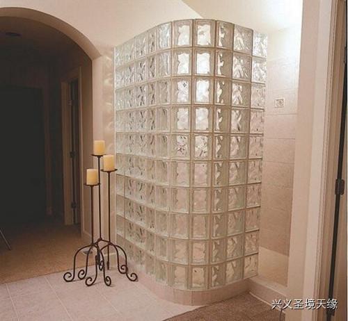 彩色玻璃砖装修效果图