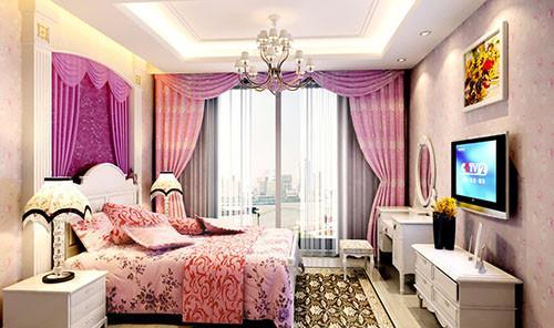 卧室阳台窗帘搭配讲究之色彩搭配