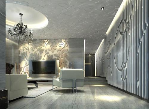 合理选择天花板 设计创意耐用的吊顶图片