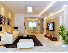 西城国际2居室新中式风格装修效果图