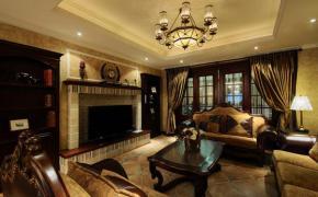 高贵典雅150平美式新古典装修风格