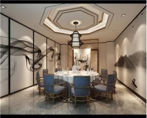 雁和 蓝山湾别墅中式装修案例