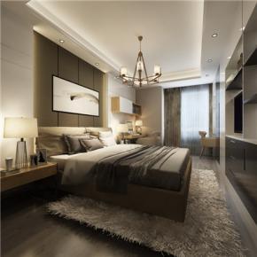 峨眉巴厘岛三室两厅现代简约装修案例